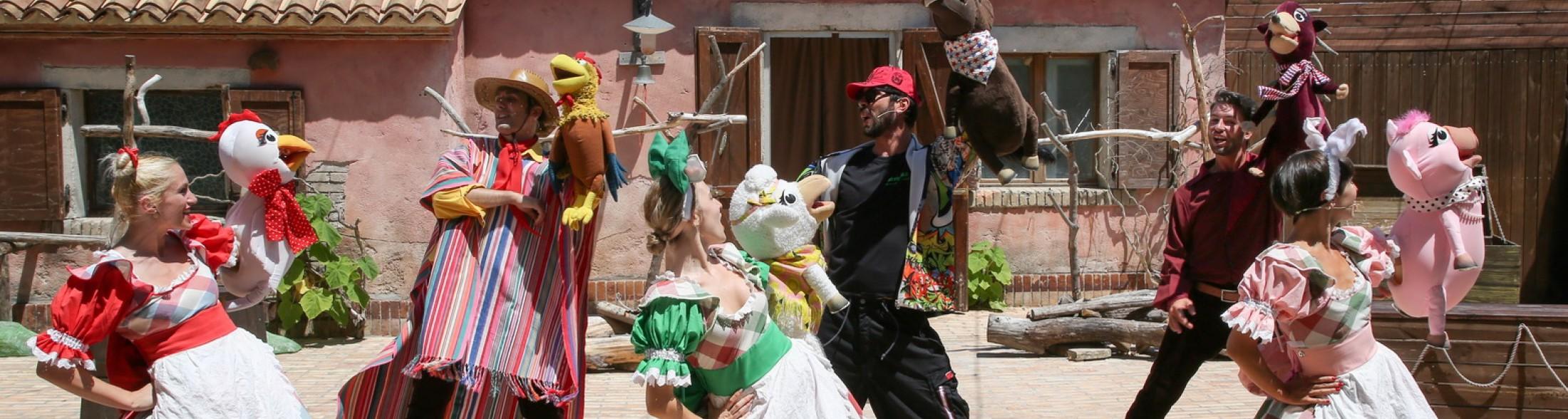 Crazy Farm Show, il nuovo musical per famiglie