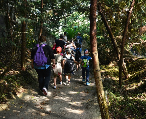 Il sentiero dei piccoli naturalisti